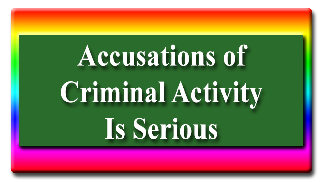Accusations of Criminal Activity in Houston